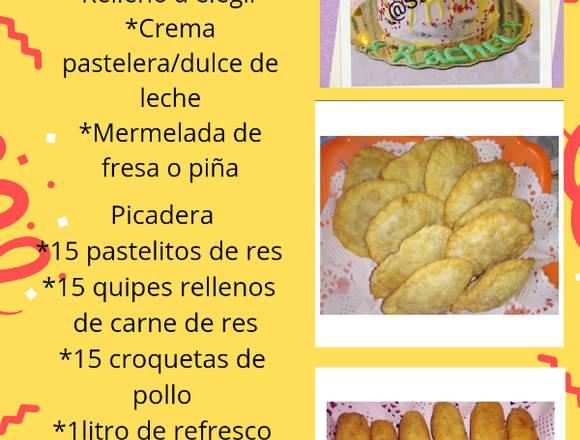 Picaderas ( dulces y saladas)