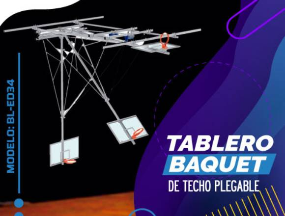 TABLERO DE TECHO PLEGABLE