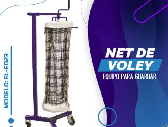 EQUIPO PARA GUARDAR NET DE VOLEY