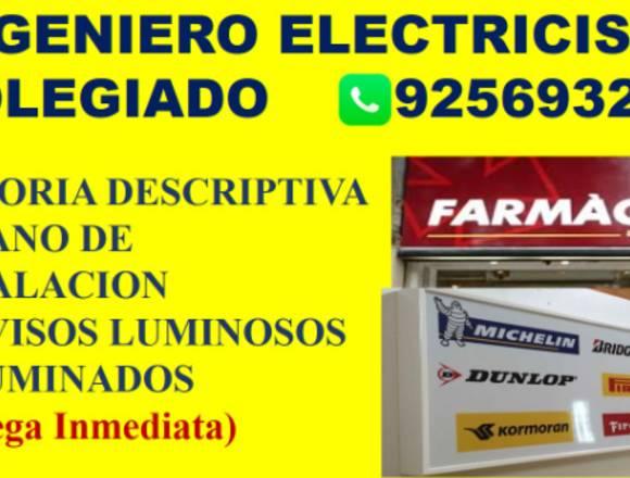 PLANO INSTALACIONES ELECTRICAS NUEVO MEDIDOR ENEL