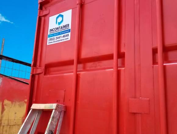 Venta de contenedores marítimos vacíos.