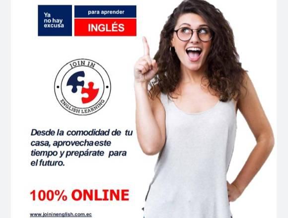 JOIN IN ENGLISH ES HABLAR INGLÉS DE VERDAD