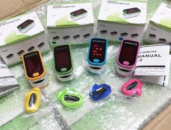 Fingertip Digital Pulse Oximeter LED Display