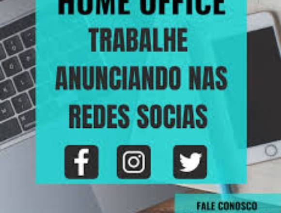 digitador de home office