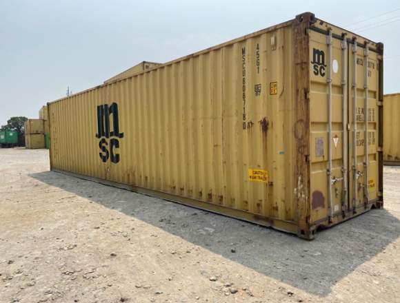 Venta de contenedores marítimos vacíos
