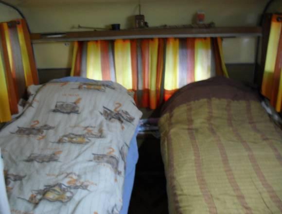 Casa Rodante Fija en Camping Bahia de Lobos