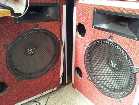 Equipo de Sonido semi pesado para Banda o DJ
