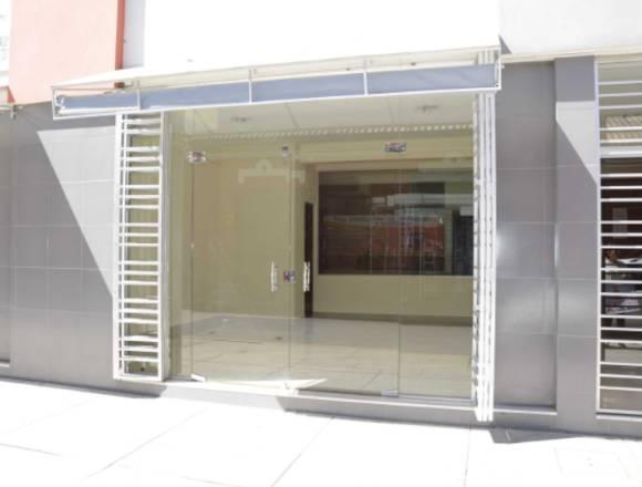 Tiendas, oficinas en alquiler/anticrético- Centro