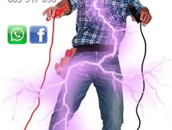 Electricista, averías, reparaciones.