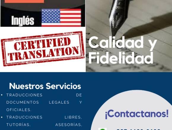 Traducciones Legales y Generales Online