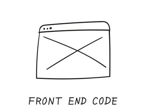 front end code