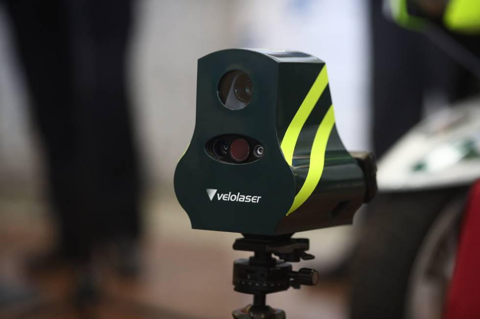 Velolaser, los nuevos radares de la DGT