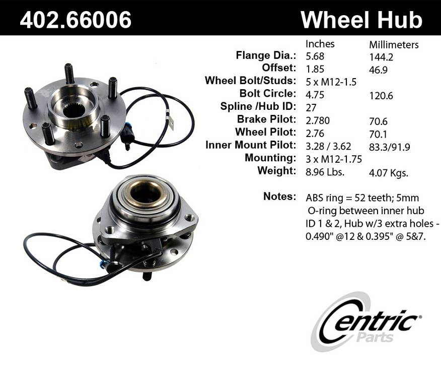 2000 chevrolet blazer axle bearing and hub assembly