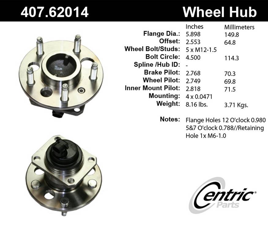 Bing Maps V6 3 To V8 Migration Guide: 2000 Chevrolet Monte Carlo Axle Bearing And Hub Assembly