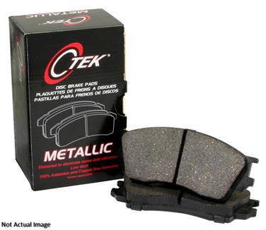 2010 Audi A3 Disc Brake Pad CENTRIC PARTS 102.14560