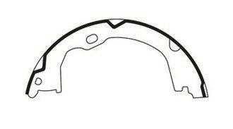 2013 Jeep Wrangler Parking Brake Shoe CENTRIC PARTS 110.09410