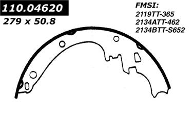 1993 Buick Roadmaster Drum Brake Shoe CENTRIC PARTS 111.04620