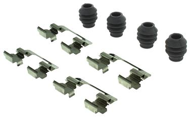 2014 Jeep Cherokee Disc Brake Hardware Kit CENTRIC PARTS 117.45047