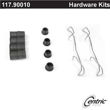 2014 Volkswagen CC Disc Brake Hardware Kit CENTRIC PARTS 117.90010