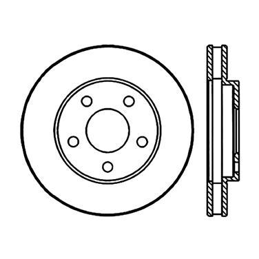 1992 Buick LeSabre Disc Brake Rotor CENTRIC PARTS 120.62050