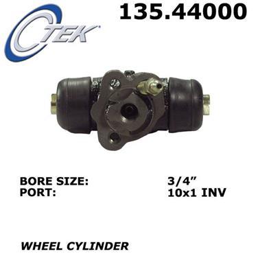 2014 Toyota Yaris Drum Brake Wheel Cylinder CENTRIC PARTS 135.44000