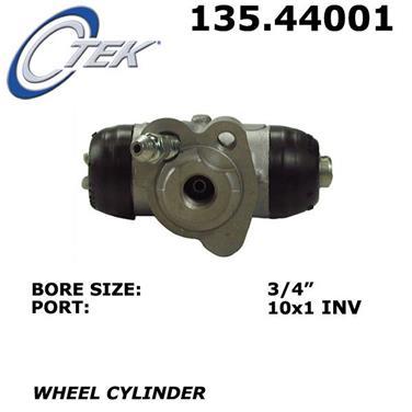 2014 Toyota Yaris Drum Brake Wheel Cylinder CENTRIC PARTS 135.44001