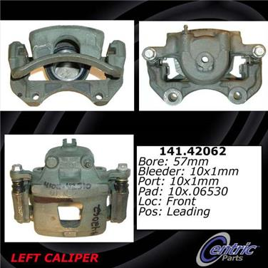 2006 Nissan Sentra Disc Brake Caliper CENTRIC PARTS 141.42061