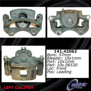 2006 Nissan Sentra Disc Brake Caliper CENTRIC PARTS 141.42062