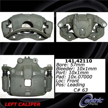 2006 Nissan Sentra Disc Brake Caliper CENTRIC PARTS 141.42109
