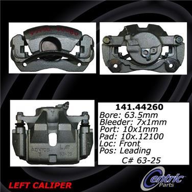 2011 Toyota RAV4 Disc Brake Caliper CENTRIC PARTS 141.44260