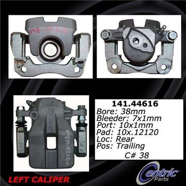2011 Toyota RAV4 Disc Brake Caliper CENTRIC PARTS 141.44615