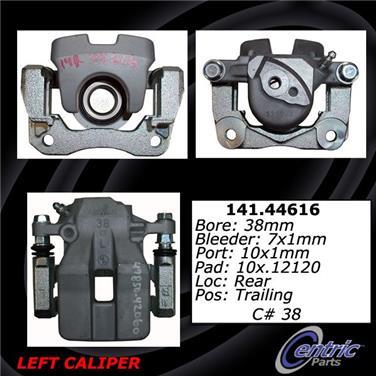 2011 Toyota RAV4 Disc Brake Caliper CENTRIC PARTS 141.44616
