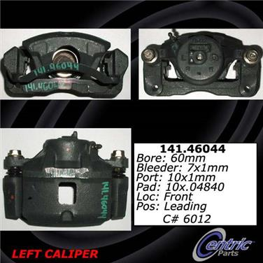 2001 Mitsubishi Eclipse Disc Brake Caliper CENTRIC PARTS 141.46043