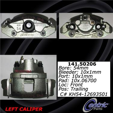 1996 Kia Sportage Disc Brake Caliper CENTRIC PARTS 141.50206