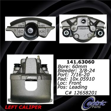 2002 Chrysler 300M Disc Brake Caliper CENTRIC PARTS 141.63060