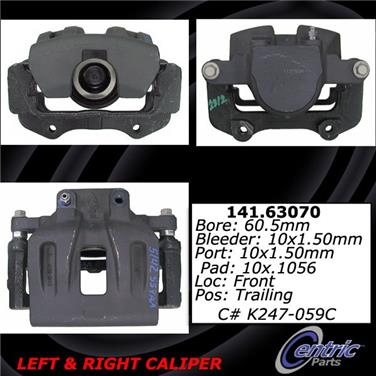 2006 Dodge Magnum Disc Brake Caliper CENTRIC PARTS 141.63070
