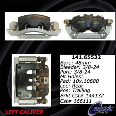 2007 Ford F-350 Super Duty Disc Brake Caliper CENTRIC PARTS 141.65531