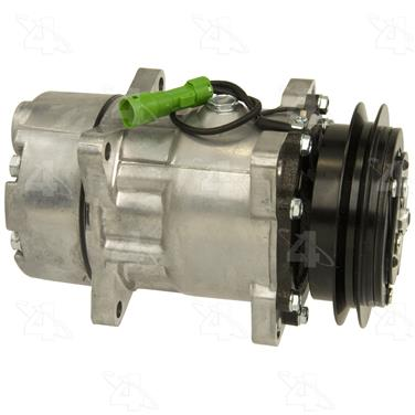 1990 Jaguar Vanden Plas A/C Compressor FOUR SEASONS 78589