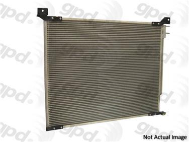 2002 Mitsubishi Montero Sport A/C Condenser GRANT PRODUCTS 4839C
