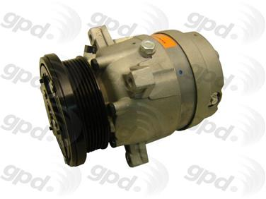 1991 Pontiac 6000 A/C Compressor GRANT PRODUCTS 6511364