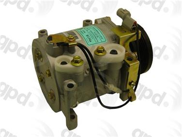 2001 Mitsubishi Eclipse A/C Compressor GRANT PRODUCTS 6511657