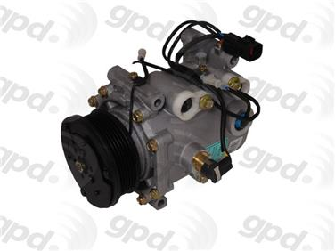 2001 Mitsubishi Eclipse A/C Compressor GRANT PRODUCTS 6511683
