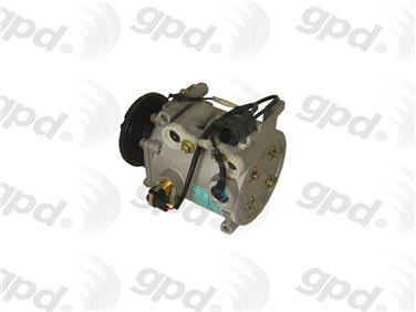 2001 Mitsubishi Eclipse A/C Compressor GRANT PRODUCTS 6512072