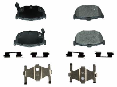 2000 Hyundai Elantra Disc Brake Pad MONROE FRICTION FX464