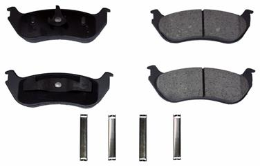 2005 Ford Explorer Disc Brake Pad MONROE FRICTION GX881