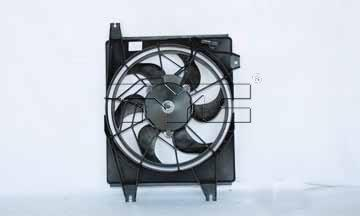 2002 Chrysler Town & Country A/C Condenser TYC PRODUCTS 4957