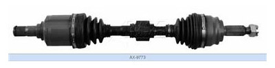 2011 Jeep Patriot CV Axle Shaft USA INDUSTRIES AX-9773