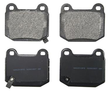 2005 Nissan 350Z Disc Brake Pad WAGNER BRAKES ZX961