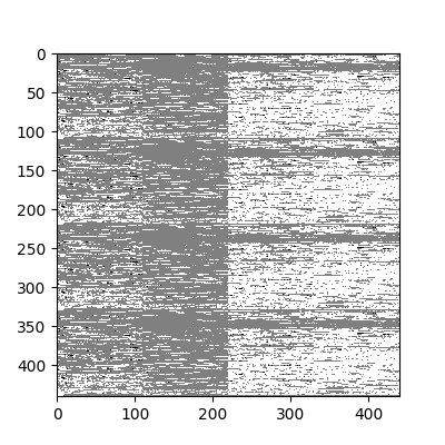 Initial input data