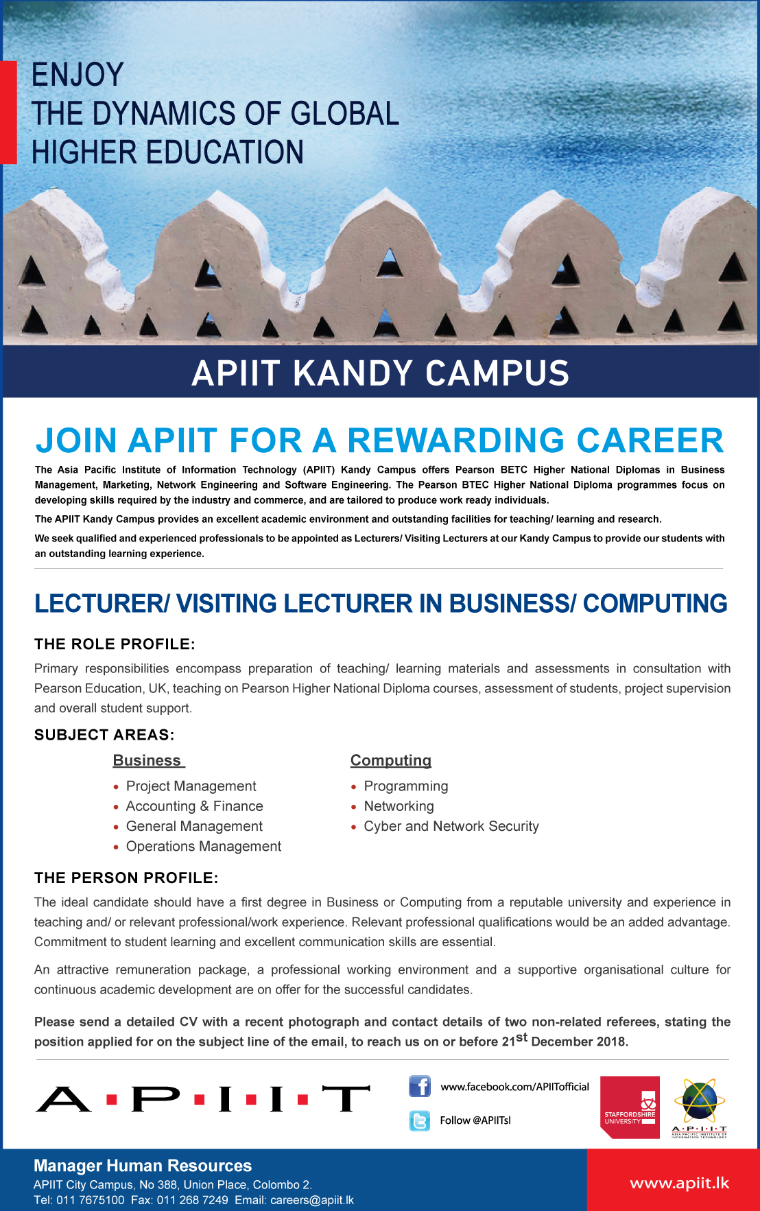 APIIT Internship